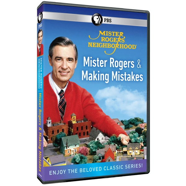 Mister Rogers Neighborhood Mister Rogers And Making Mistakes Dvd Shop Pbs Org