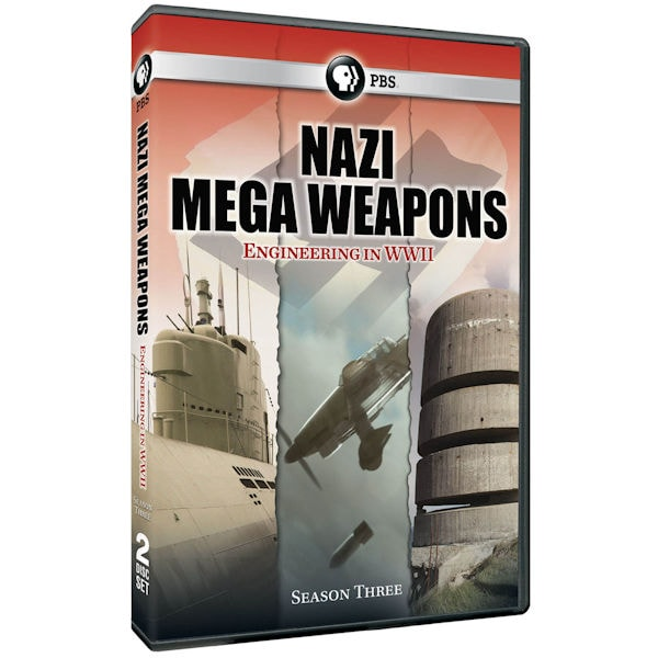 Purchase Nazi Mega Weapons Season 3