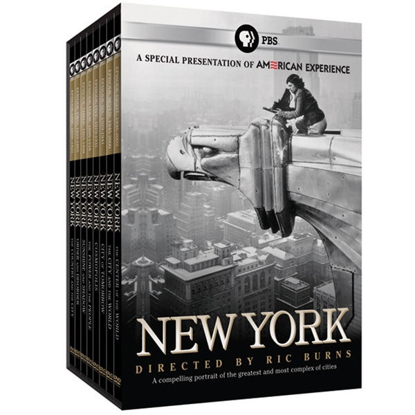 American Experience: New York: A Documentary Film by Ric Burns DVD 8PK