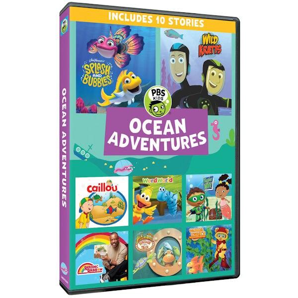 Pbs Kids Ocean Adventures Dvd Shop Pbs Org