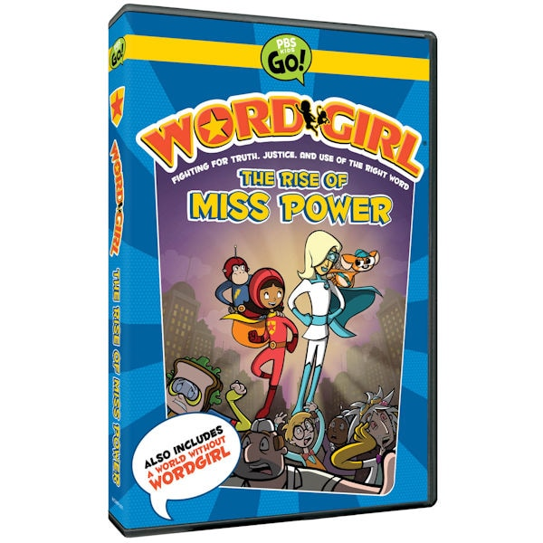 wordgirl the rise of miss power dvd shop pbs org