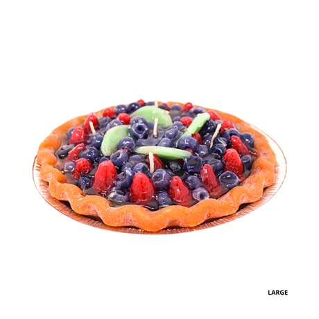 Fruit Pie Candle