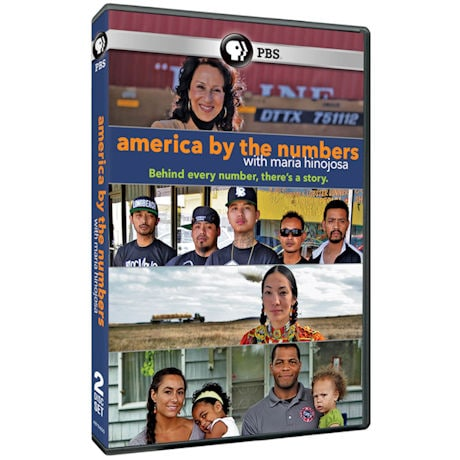 America By The Numbers with Maria Hinojosa DVD