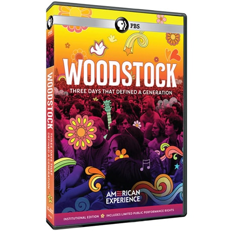 American Experience: Woodstock: Three Days that Defined a Generation - Institutional Edition (ON DEMAND) DVD