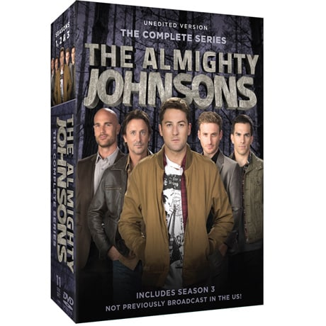 The Almighty Johnsons: The Complete Series DVD