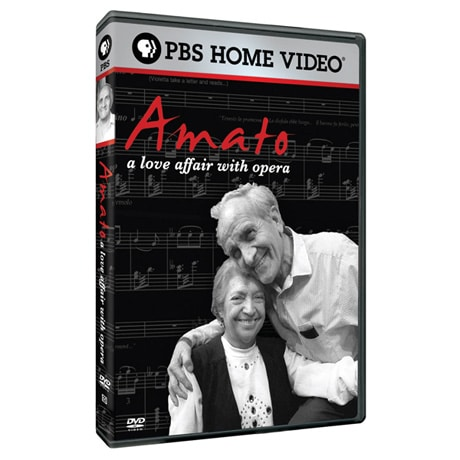 Amato: A Love Affair with Opera DVD