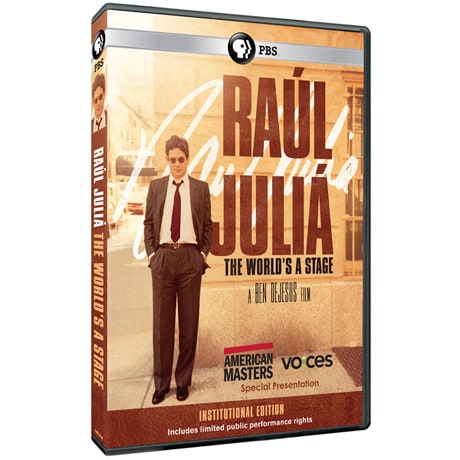 American Masters: Raul Julia: The World's a Stage (Institutional Edition) DVD