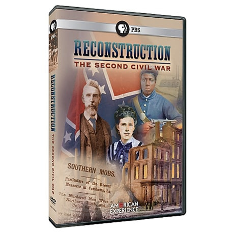 American Experience: Reconstruction: The Second Civil War DVD