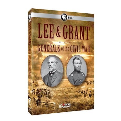 American Experience: Lee & Grant: Generals of the Civil War DVD