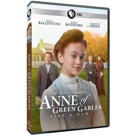 L.M. Montgomery's Anne of Green Gables Fire and Dew DVD
