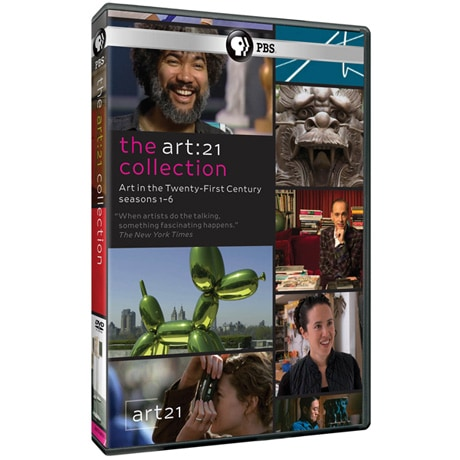 Art 21: Art in the Twenty-First Century: Collection (Seasons 1-6) DVD