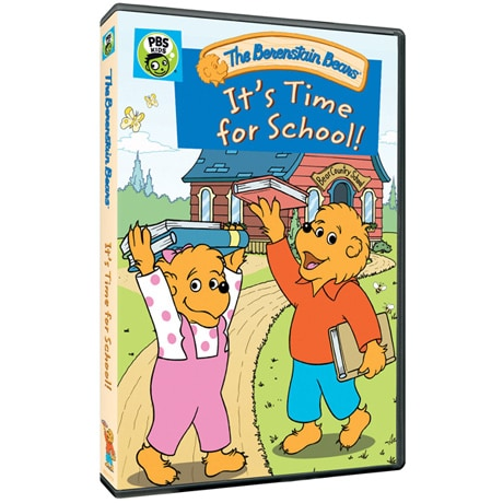 Berenstain Bears: It's Time for School! DVD