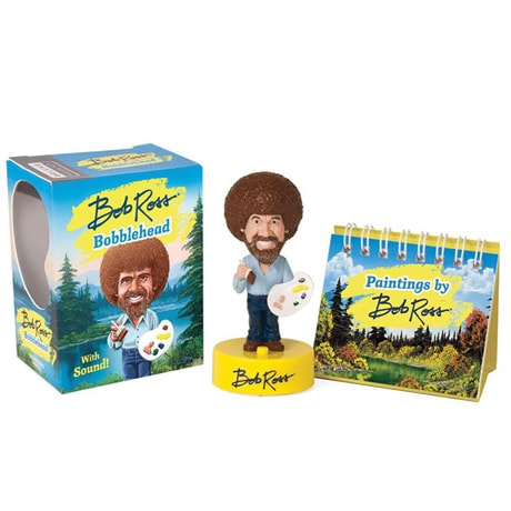 Bob Ross Bobblehead with Sound