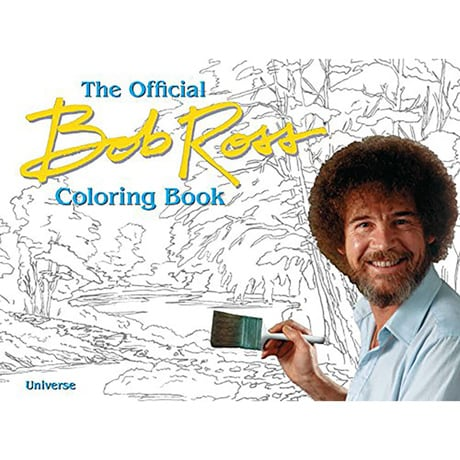 The Bob Ross Coloring Book (Paperback)