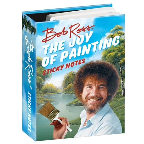 Bob Ross The Joy of Painting Sticky Notes