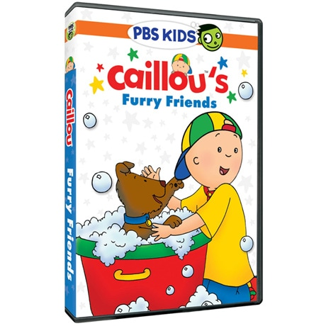 Caillou's Furry Friends DVD