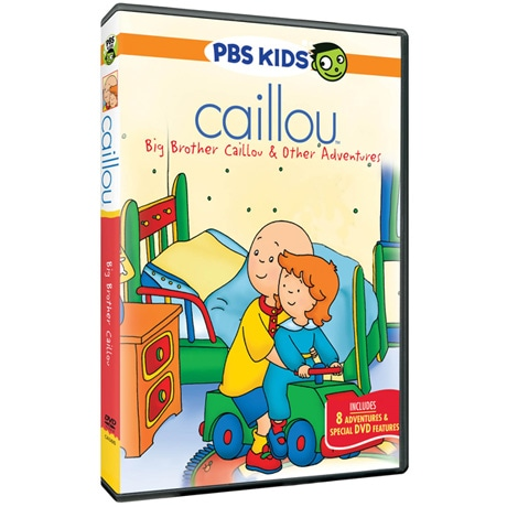 Caillou: Big Brother Caillou & Other Adventures DVD