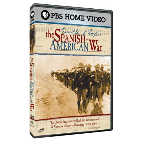 Crucible of Empire: The Spanish-American War DVD