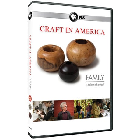 Craft in America: Family DVD