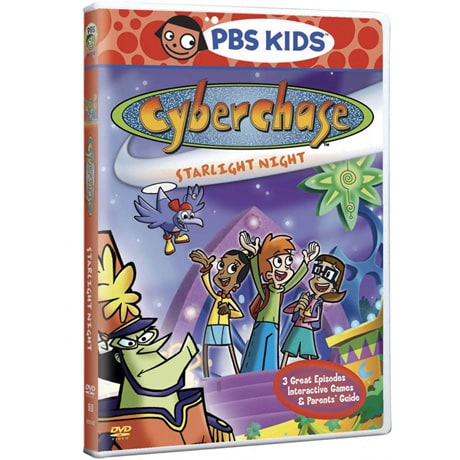Cyberchase: Starlight Night DVD