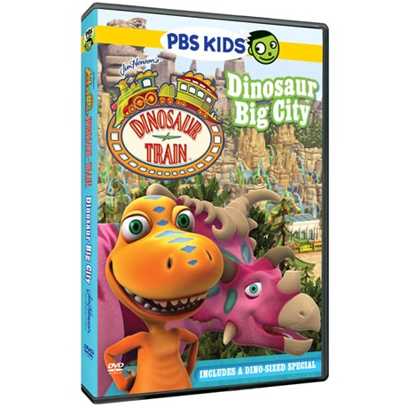 Dinosaur Train: Big City DVD