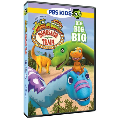 Dinosaur Train: Big, Big, Big DVD