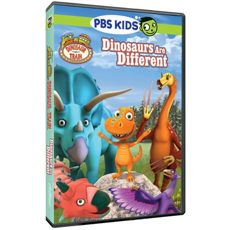 Dinosaur Train: Dinosaurs are Different DVD