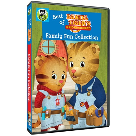 Daniel Tiger's Neighborhood: Family Fun Collection DVD