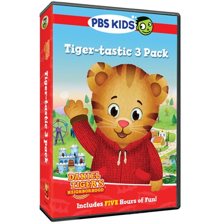 Daniel Tiger's Neighborhood: Tiger-tastic 3 Pack DVD