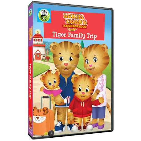Daniel Tiger's Neighborhood: Tiger Family Trip DVD
