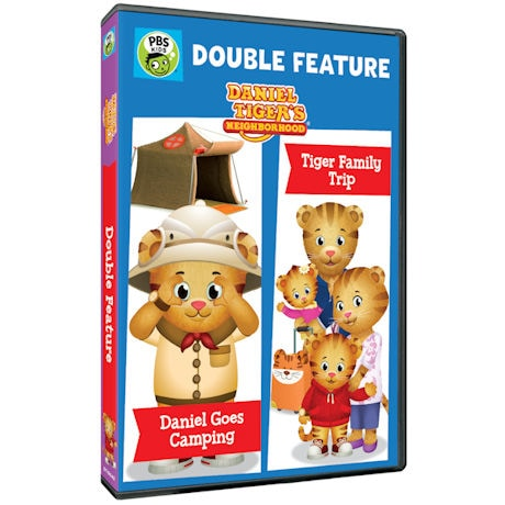 Daniel Tiger's Neighborhood: Double Feature: Daniel Goes Camping and Tiger Family Trip DVD