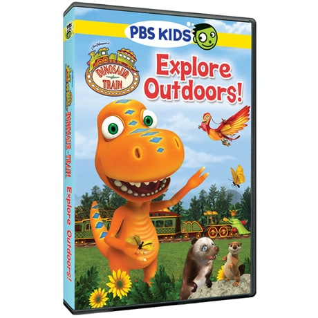 Dinosaur Train: Explore Outdoors! DVD