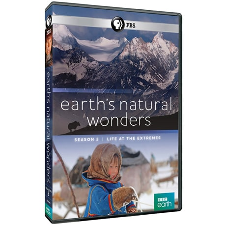 Earth's Natural Wonders: Season 2: Life at the Extremes  - AV Item