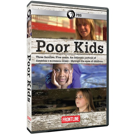 FRONTLINE: Poor Kids DVD