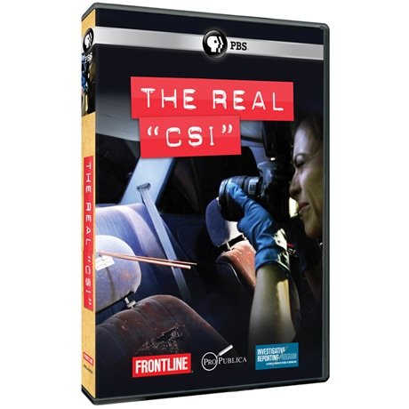 FRONTLINE: The Real 'CSI' DVD