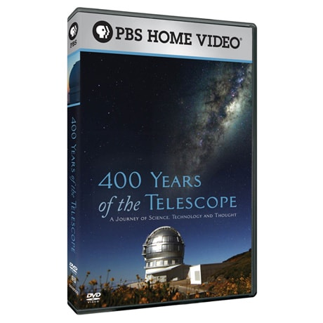 400 Years of the Telescope DVD