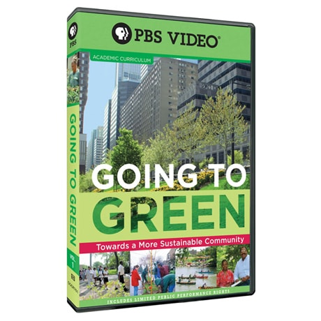 Going to Green: Disc One: Towards a More Sustainable Community DVD - AV Item