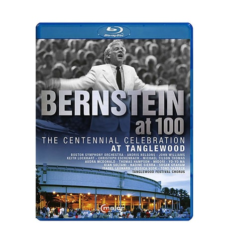 Great Performances: Bernstein at 100: The Centennial Celebration At Tanglewood Blu-ray