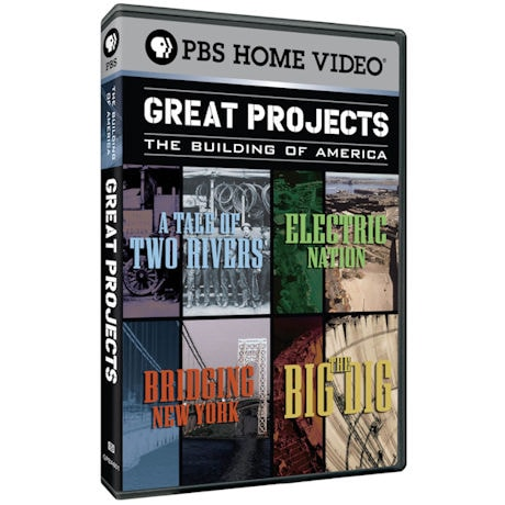 Great Projects: The Building of America DVD 2PK