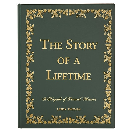Personalized The Story of a Lifetime: A Keepsake of Personal Memoirs