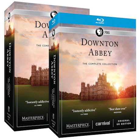 Downton Abbey: The Complete Series - Unedited UK Edition DVD & Blu-ray