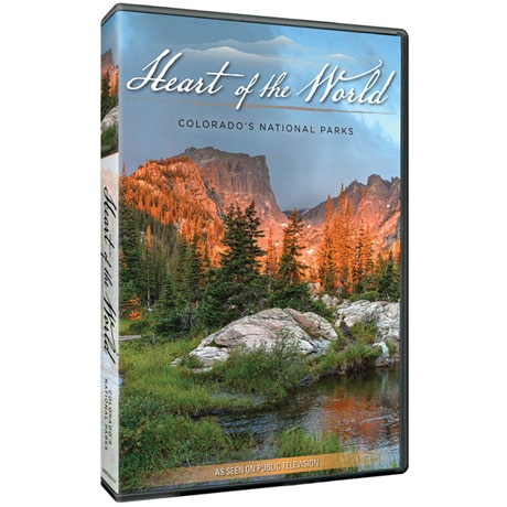 Heart of the World: Colorado's National Parks DVD