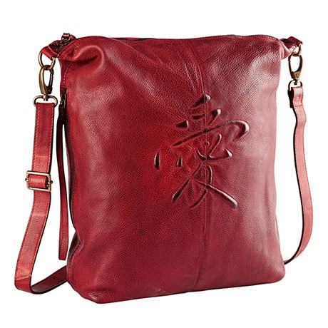 Love Symbol Leather Handbag