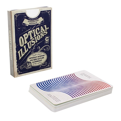 Optical Illusions 50 Card Deck