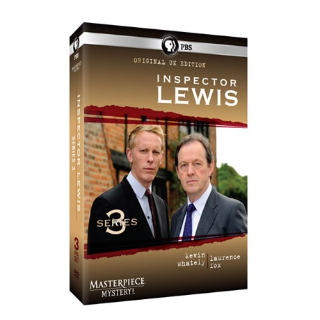 Masterpiece Mystery!: Inspector Lewis 3 (Original UK Edition) DVD