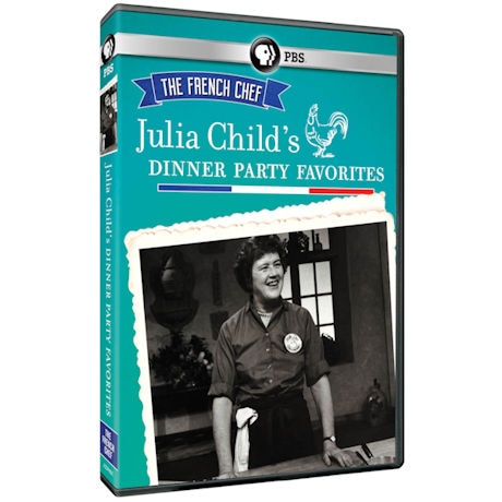 The French Chef: Julia Child's Dinner Party Favorites DVD