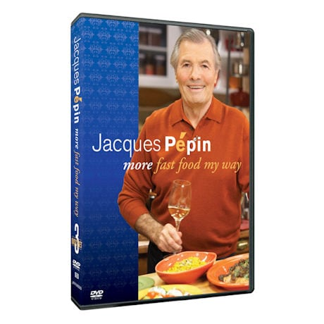 Jacques Pepin: More Fast Food My Way DVD