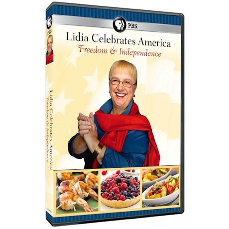 Lidia Celebrates America: Freedom & Independence DVD