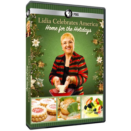 Lidia Celebrates America: Home for the Holidays DVD