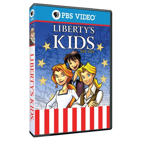 Liberty's Kids: James Armistead + Yorktown DVD - AV Item